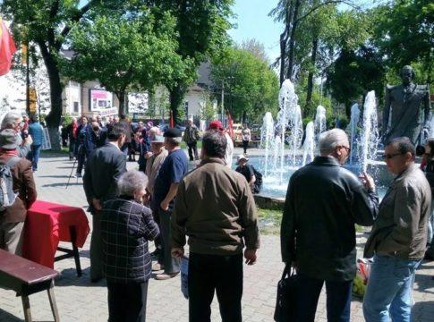 Miting al socialiștilor români la București