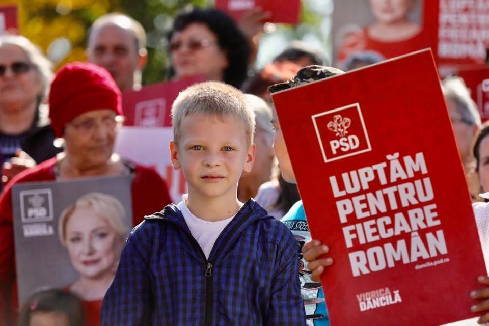 Campanie PSD / Viorica Dăncilă