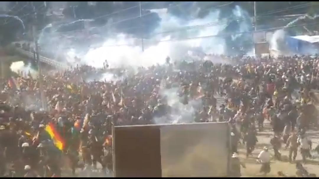 Bolivia, manifestație Cochbamba