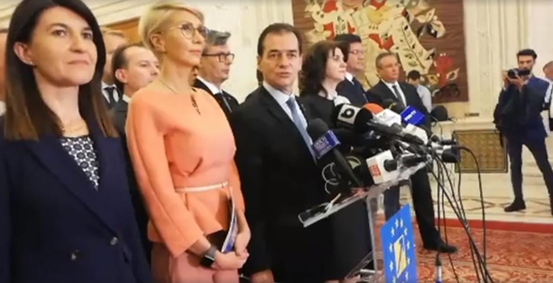 Guvernul Orban a fost investit pe 4 noiembrie.